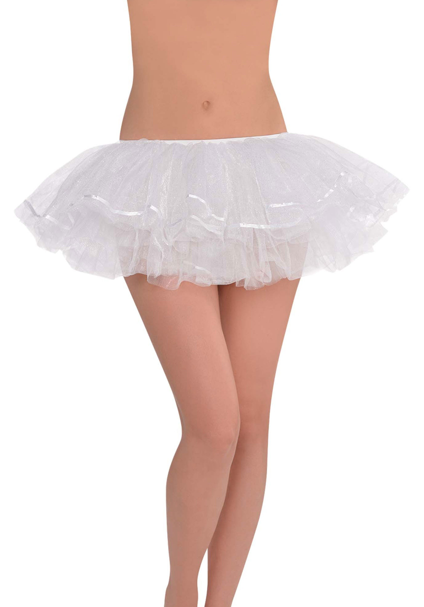 White_Shimmer_Tutu_for_Women