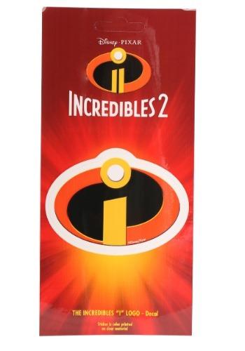 Disney Incredibles Logo Exclusive Decal
