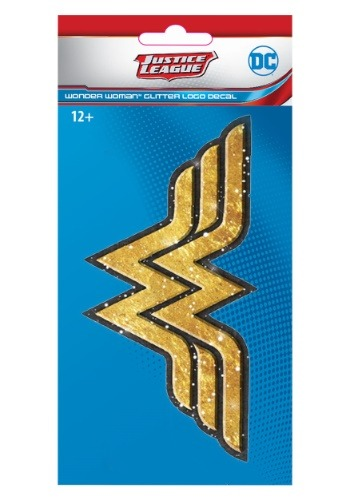 DC Justice League Exclusive Wonder Woman Gold 4x8 Glitter De