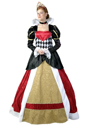Plus Size Elite Queen of Hearts Costume