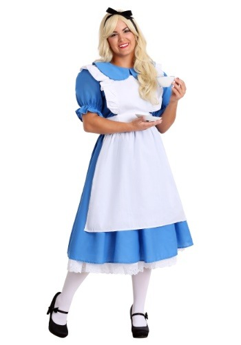 Deluxe Plus Size Alice Costume
