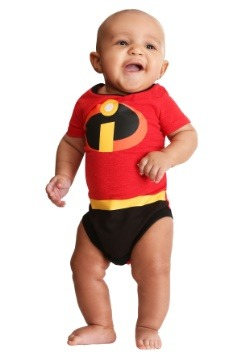 Infant The Incredibles 2 Creeper Onesie11