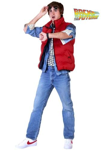 Back to the Future Marty McFly Men's Plus Size Costume
