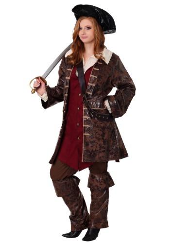 Plus Size Womens Caribbean Pirate Costume