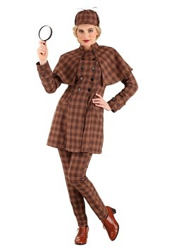 Women's Sherlock Holmes Costume