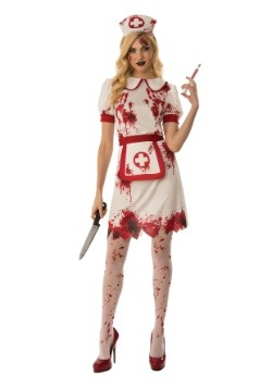 Women's Bloody Nurse Costume