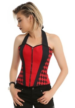 Harley Quinn and Joker Reversible Women's Corset