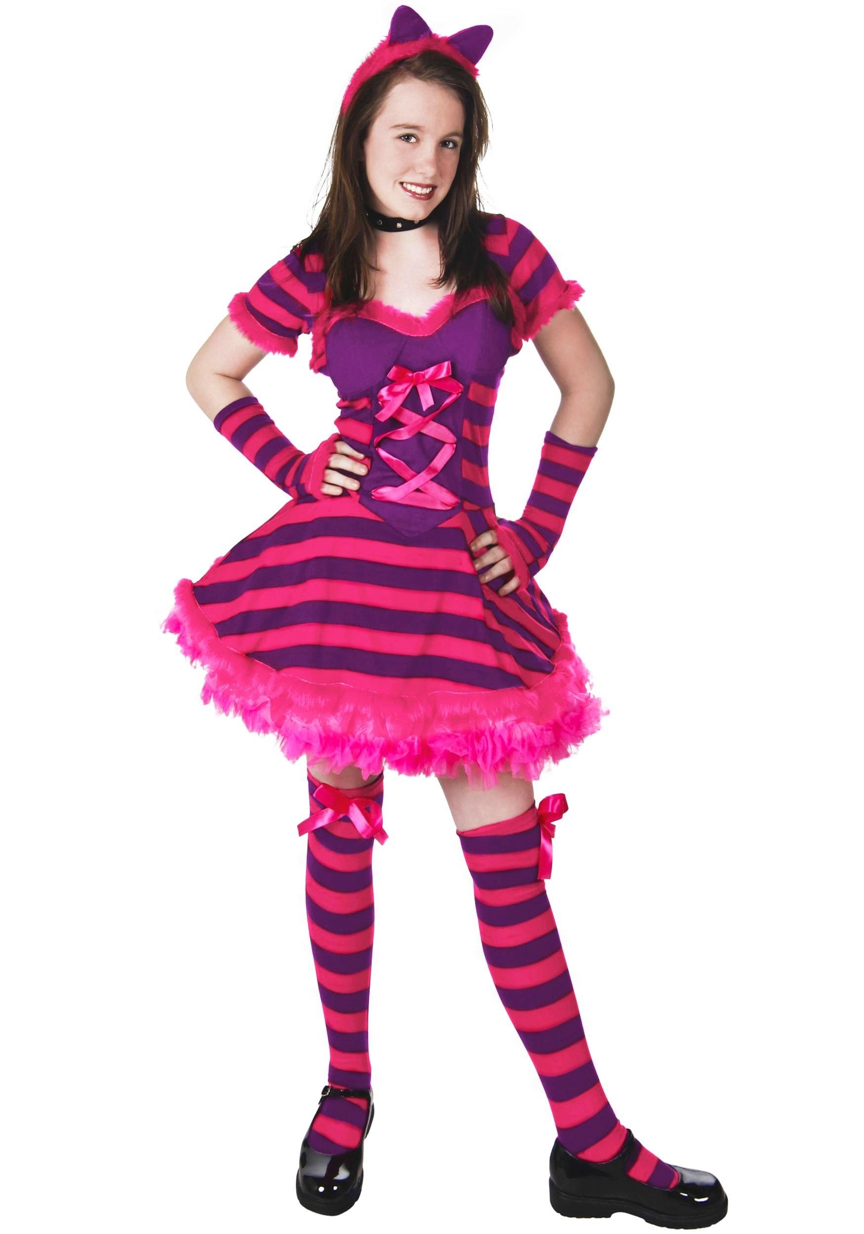 Teen Wonderland Cat Costume