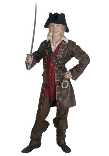 Teen Girls Caribbean Pirate Costume
