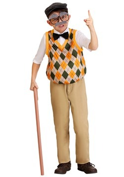 Kids Old Man Costume