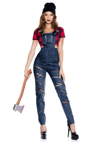 Women's Lady Lumberjack Costume
