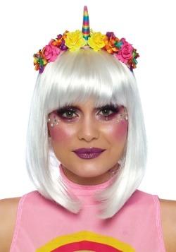 Rainbow Unicorn Flower Headband