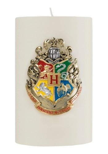 Harry Potter Hogwarts Themed Large Insignia Candle