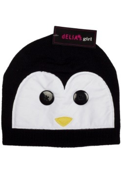 Delia's Penguin Cold Weather Girl's Beanie Hat