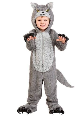 Grey Wolf Costume Toddler