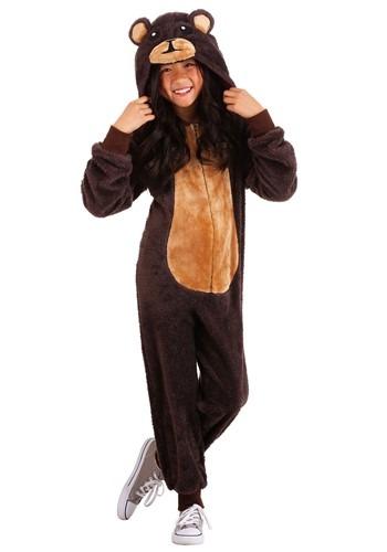Kids Brown Bear Onesie