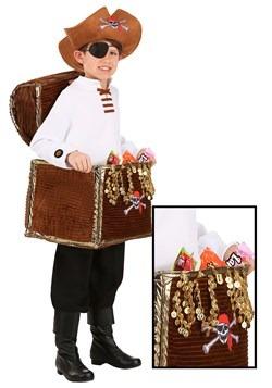 Child Pirate Chest Candy Catcher Costume