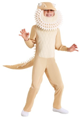 Kids Bearded Dragon Costume