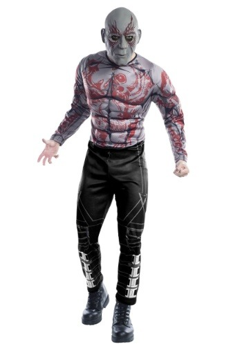 Guardians of the Galaxy Deluxe Drax Adult Costume