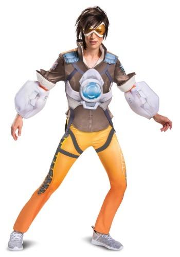 Overwatch Women's Tracer Deluxe Costume