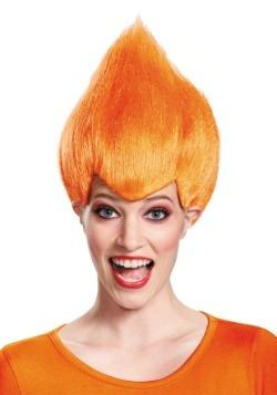 Orange Adult Wacky Wig