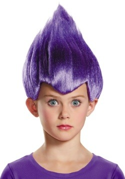 Child Purple Wacky Wig