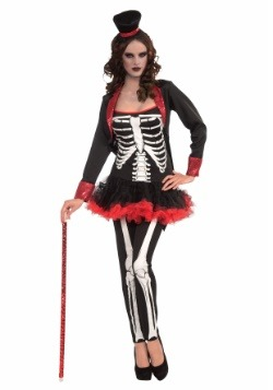 Women's Ms. Bone Jangles Costume