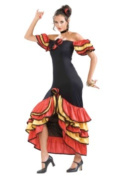 Women's Spanish Lady Costume
