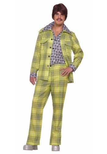 Men's Leisure Suit Plaid Costume