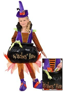 Toddler Cauldron Witch Costume