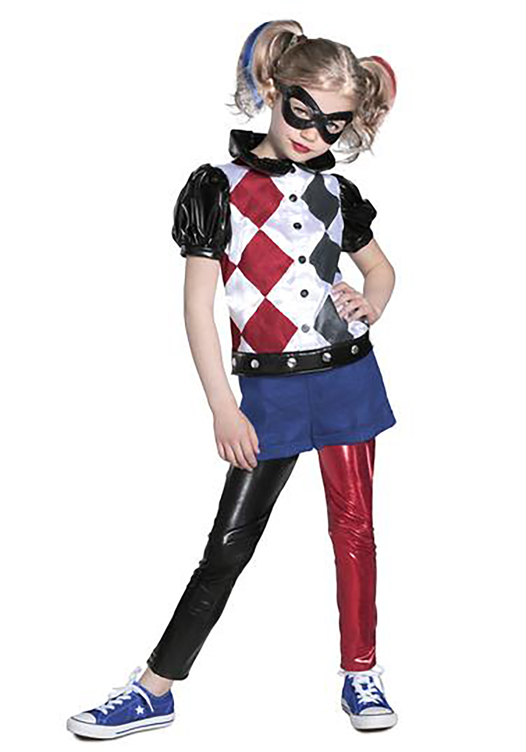 DC Superhero Girlu0027s Premium Harley Quinn Costume  sc 1 st  Halloween Costumes : superheroes girls costume  - Germanpascual.Com