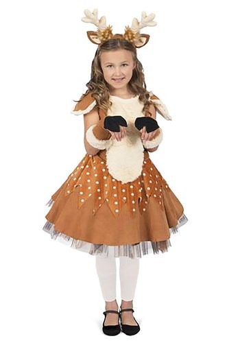 Girls Doe the Deer Costume