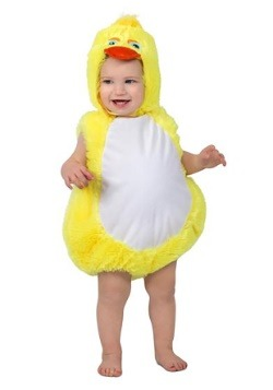 Toddler Plucky Ducky Costume
