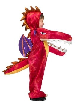 Child Chompin' Red Dragon Costume