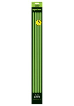 "22"" Green Glowsticks- Pack of 5"