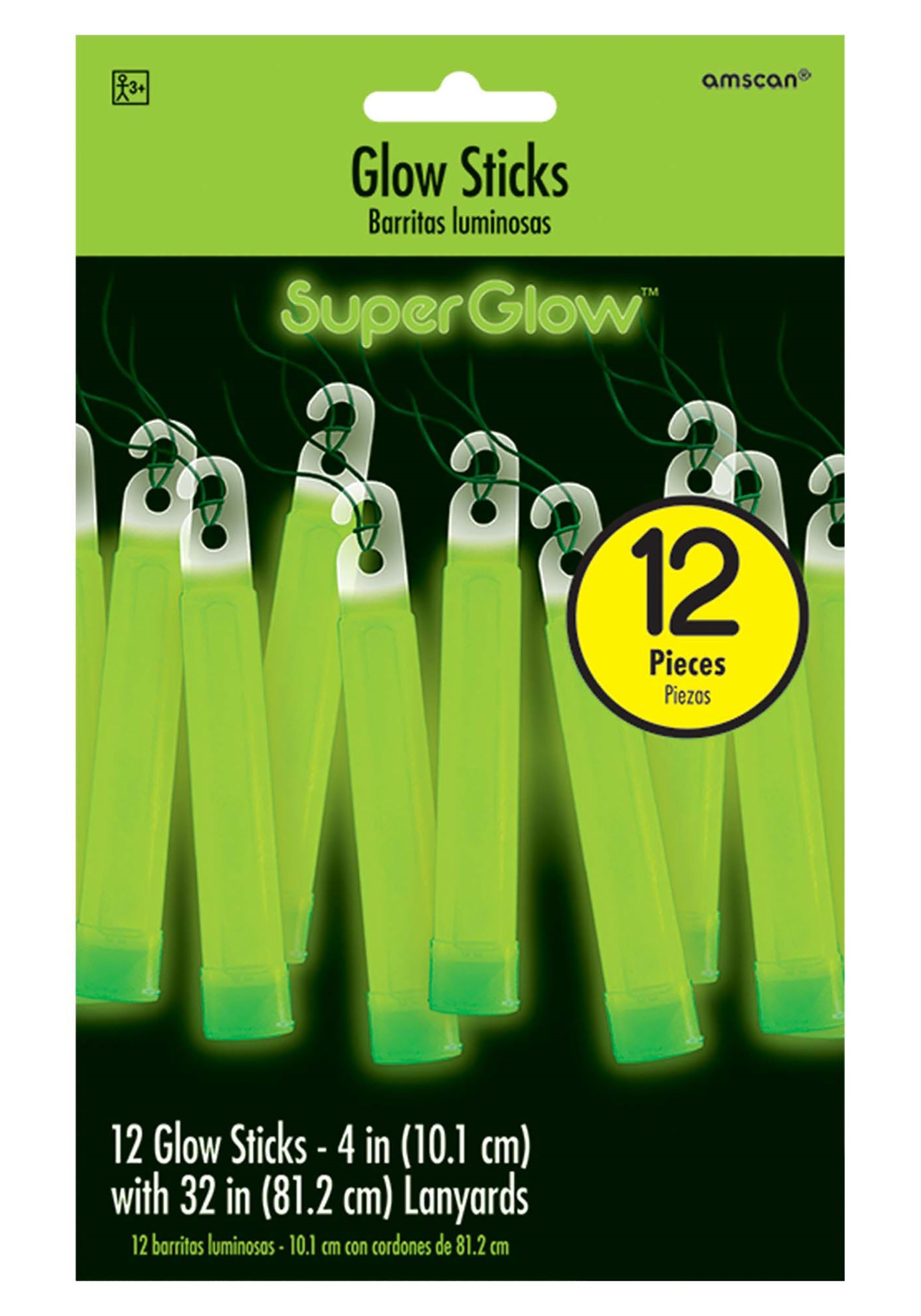 4_Inch_Green_Glowsticks_Pack_of_12