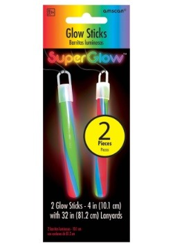 """Multi Color Glowsticks - 4"""" Pack of 2"""