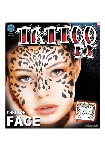 Cheetah Temporary Tattoo