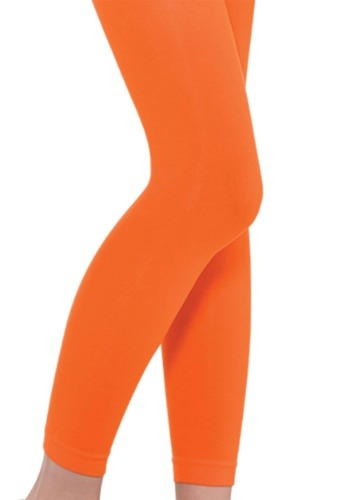 Child Orange Leggings