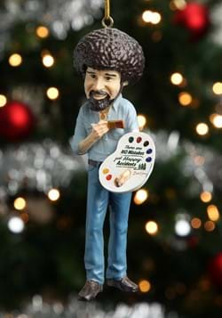 "Molded Ornament 5"" Bob Ross"