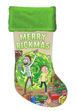 Rick & Morty Satin Stocking