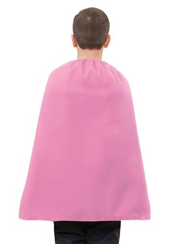 Pink Superhero Child's Cape