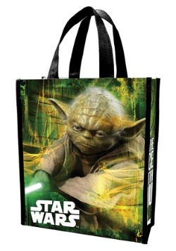 Star Wars Yoda Recycled Shopper Tote Treat Bag