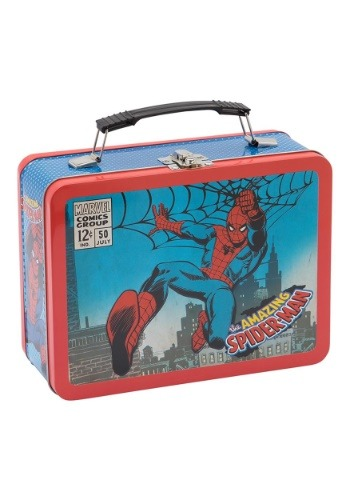 Marvels Spider-Man Large Tin Tote