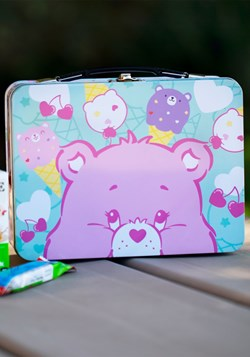 Care Bears Large Lunch Box Tin Tote
