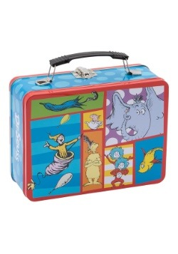 Dr. Seuss Cat in the Hat Large Tin Lunch Box