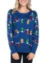 Women's Tipsy Elves Christmas Lights Ugly Christmas Sweater3