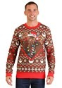 Star Wars Chewbacca Lights Brown/Red Ugly Christmas Sweater