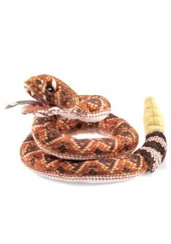 """9"""" Folkmanis Rattlesnake Puppet"""