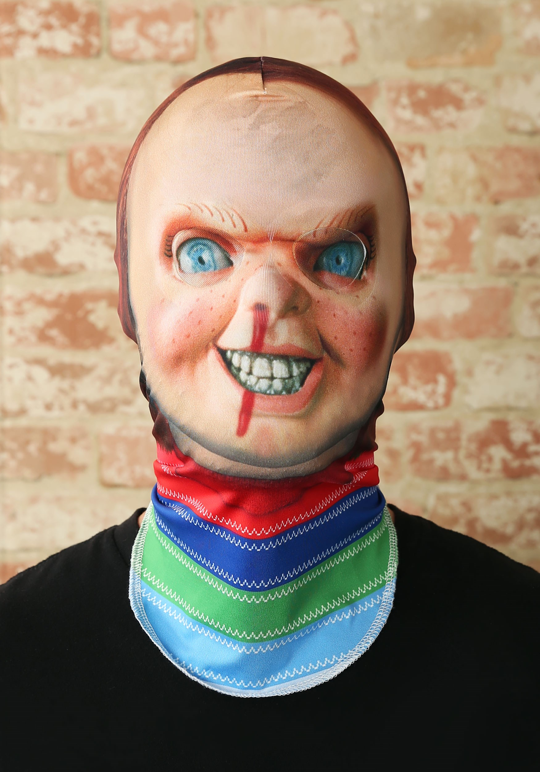INOpets.com Anything for Pets Parents & Their Pets Child's Play 2 Chucky Adult Fabric Mask